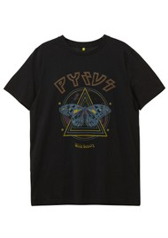 Pyrus Wild Beauty Organic Cotton Tee - Black