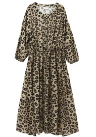 Pyrus Frances Maxi Dress - Muted Cheetah