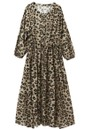 Frances Maxi Dress - Muted Cheetah additional image
