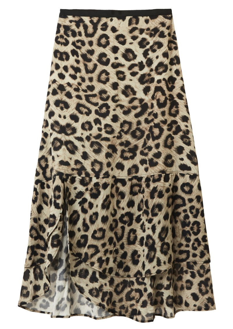 Pyrus Keira Printed Skirt - Muted Cheetah main image