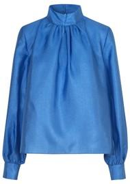 STINE GOYA Eddy Shirt - Blue