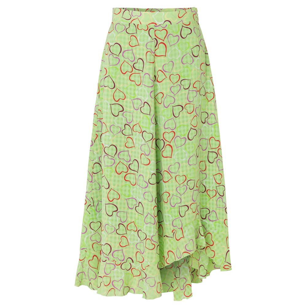 Marigold Skirt - Hearts Green