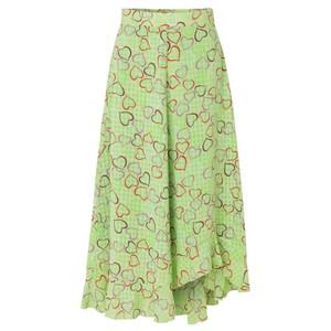 Marigold Skirt - Hearts Green