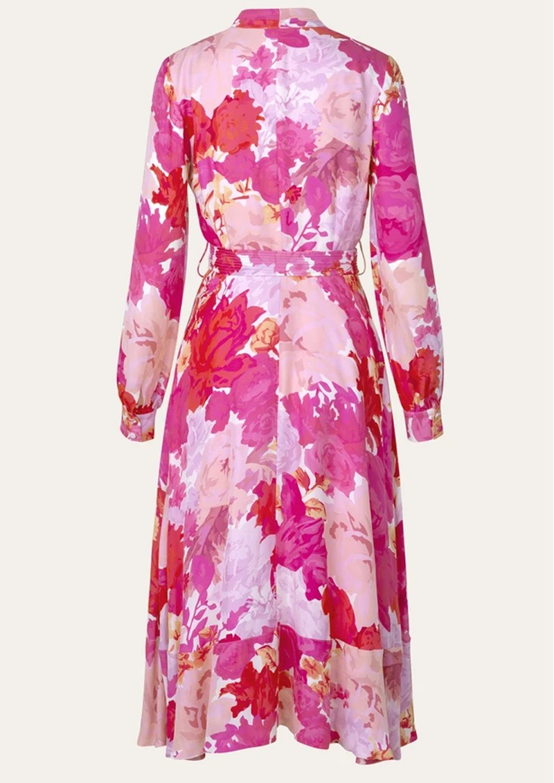STINE GOYA Reflection Silk Mix Dress - Rosegarden main image