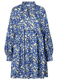 STINE GOYA Jasmine Silk Dress - Forget Me Not
