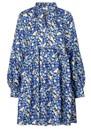 STINE GOYA Jasmine Silk Dress - Forget Me Not