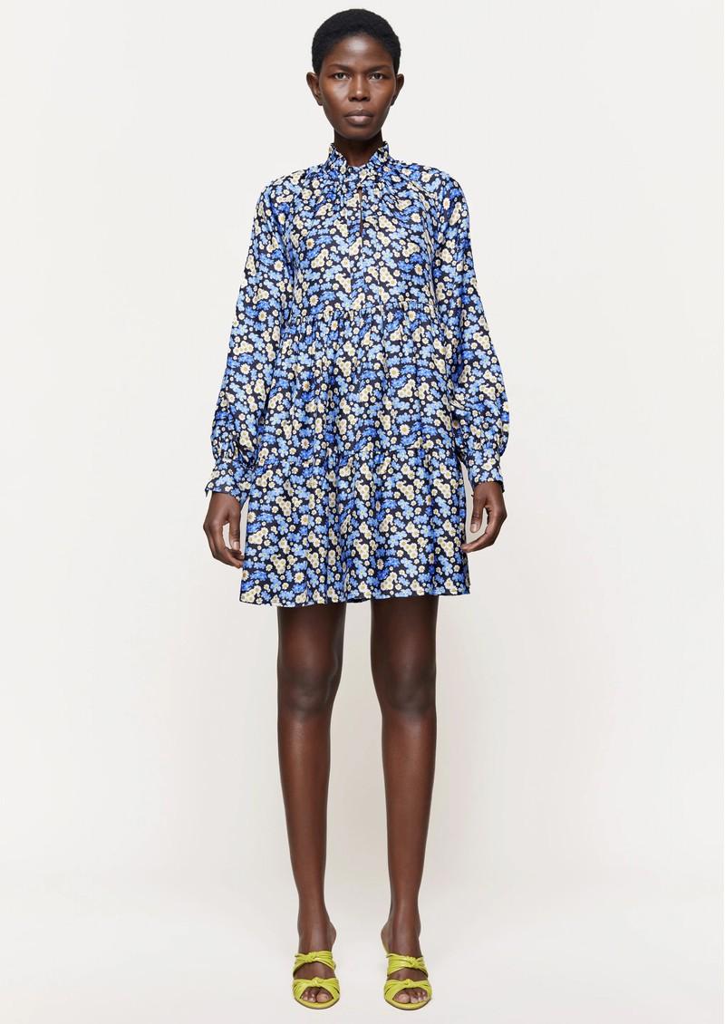 STINE GOYA Jasmine Silk Dress - Forget Me Not main image