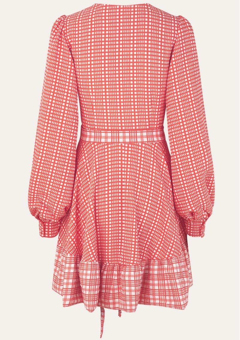 STINE GOYA Farrow Dress - Plaid main image