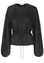STINE GOYA Sahara Top - Black Lace