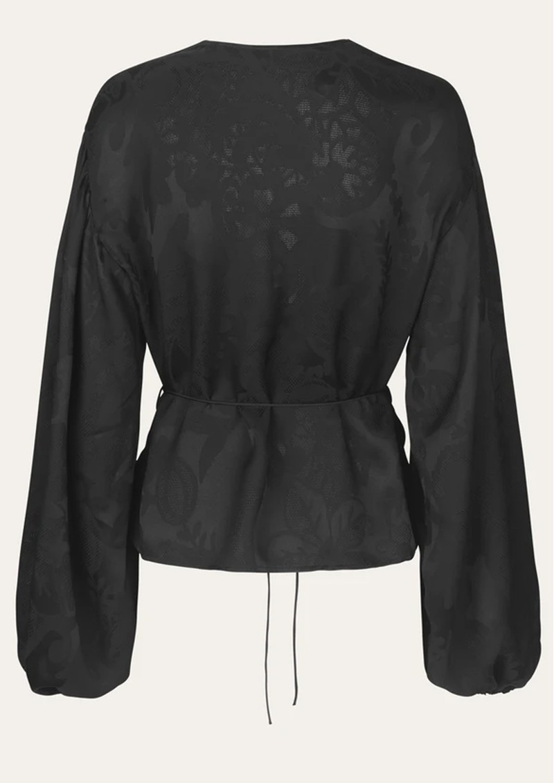 Sahara Top - Black Lace main image