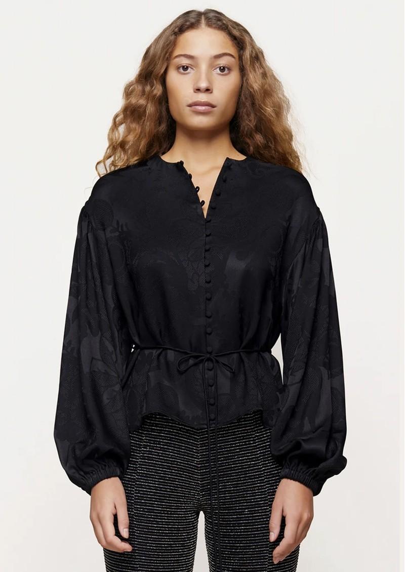 STINE GOYA Sahara Top - Black Lace main image