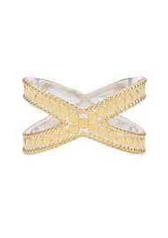 ANNA BECK Cross Ring - Gold