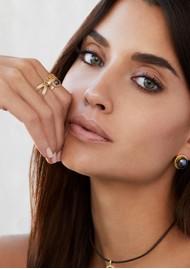 ANNA BECK Cross Ring - Gold