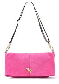 Sous Les Paves Spritz Fold Over Parrot Bag - Candy & Camo