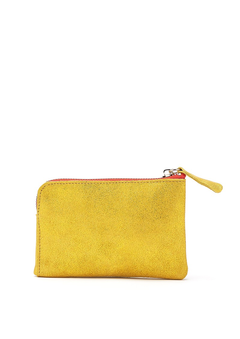 Anata Stingray Leather Pouch - Paille main image