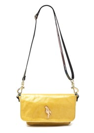 Sous Les Paves Mai Tai Parrot Suede Bag - Yellow