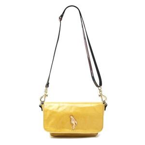 Mai Tai Parrot Suede Bag - Yellow