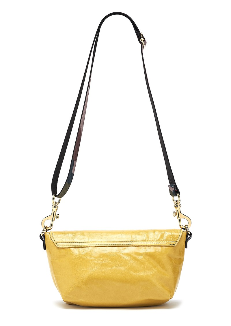 Sous Les Paves Mai Tai Parrot Suede Bag - Yellow main image