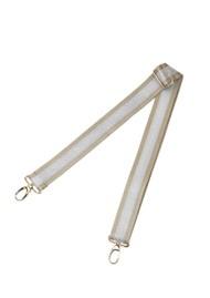 Sous Les Paves Adjustable Bag Strap - Silver
