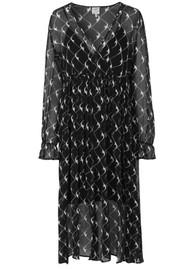 BAUM UND PFERDGARTEN Axelle Dress - Black Cream Boom