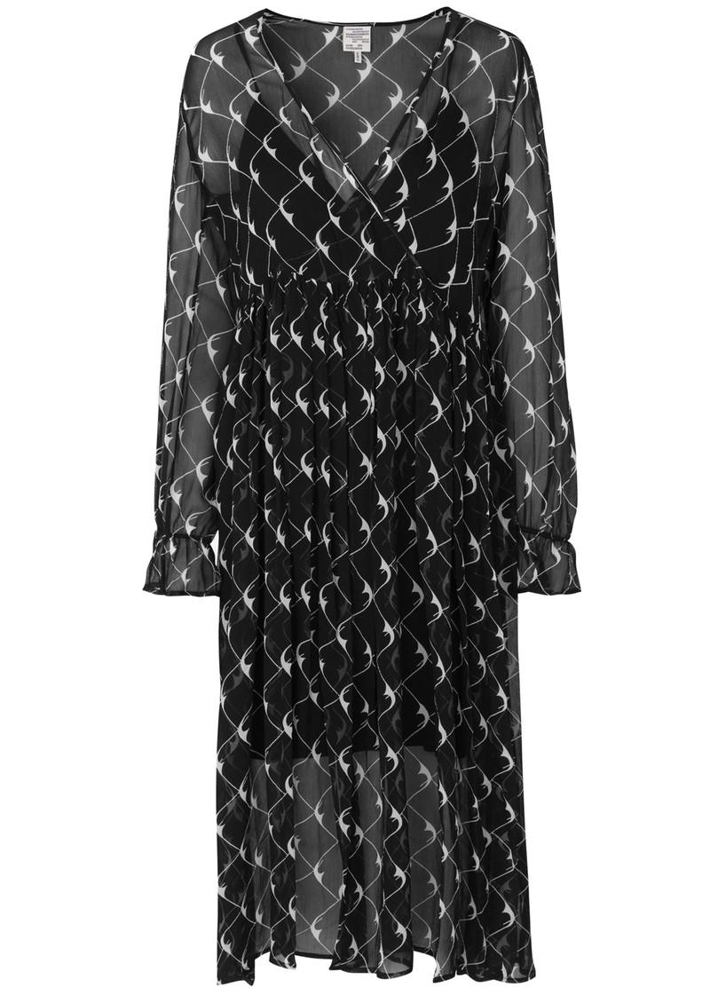BAUM UND PFERDGARTEN Axelle Dress - Black Cream Boom main image
