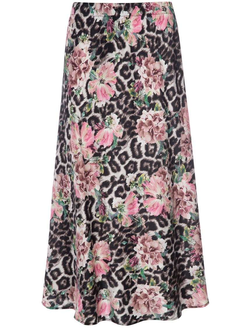 DEA KUDIBAL Erica Exclusive Silk Printed Skirt - Pomander main image