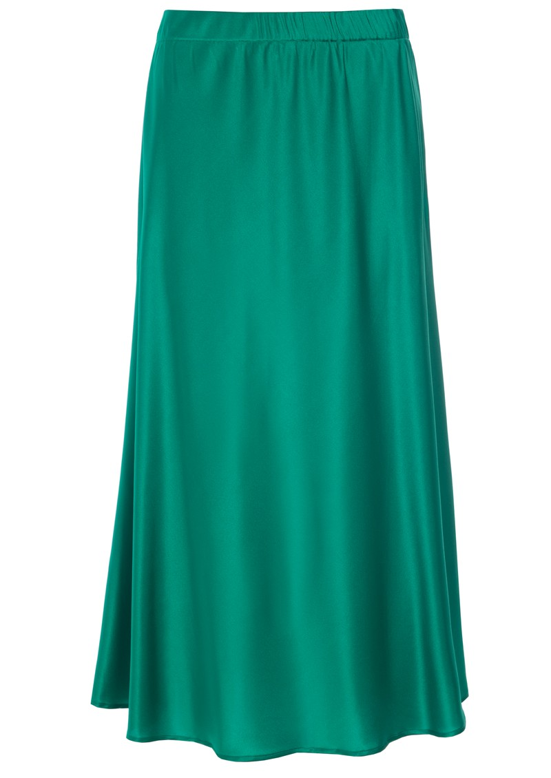 DEA KUDIBAL Erica Silk Skirt - Green main image