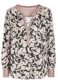 DEA KUDIBAL Kay Silk Blouse - Papilio Grey