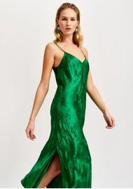 ESSENTIEL ANTWERP Vegetarian Long Slip Dress - Green