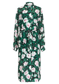 ESSENTIEL ANTWERP Voho Floral Printed Dress - Green