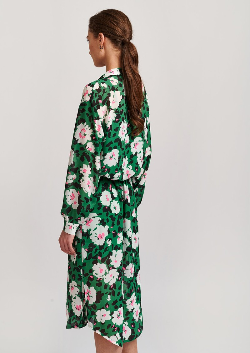 ESSENTIEL ANTWERP Voho Floral Printed Dress - Green main image