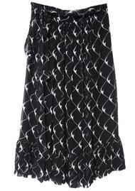 BAUM UND PFERDGARTEN Selda Skirt - Black Cream Boom