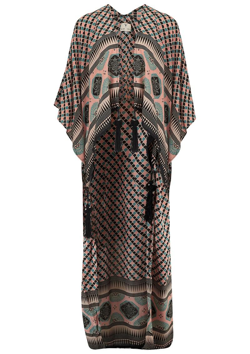 TRIBE + FABLE Mumbai Kimono - Black main image