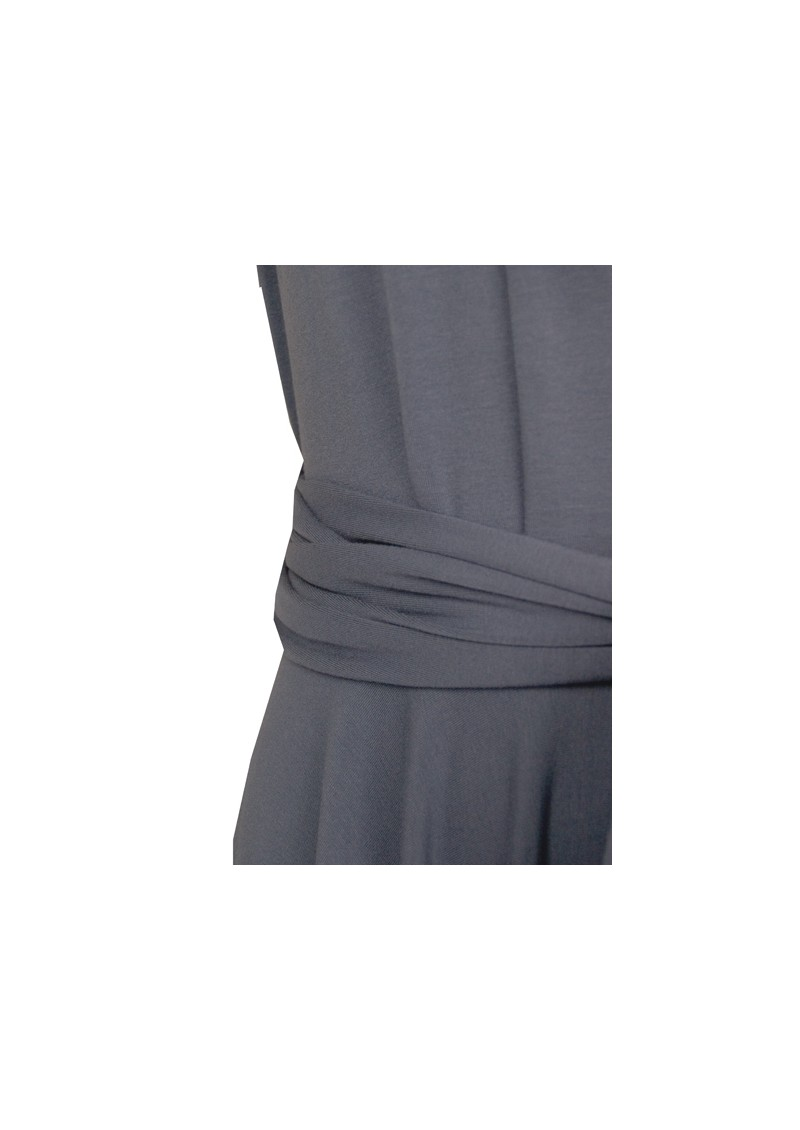 Butter By Nadia Signature Short Jersey Dress - Slate main image