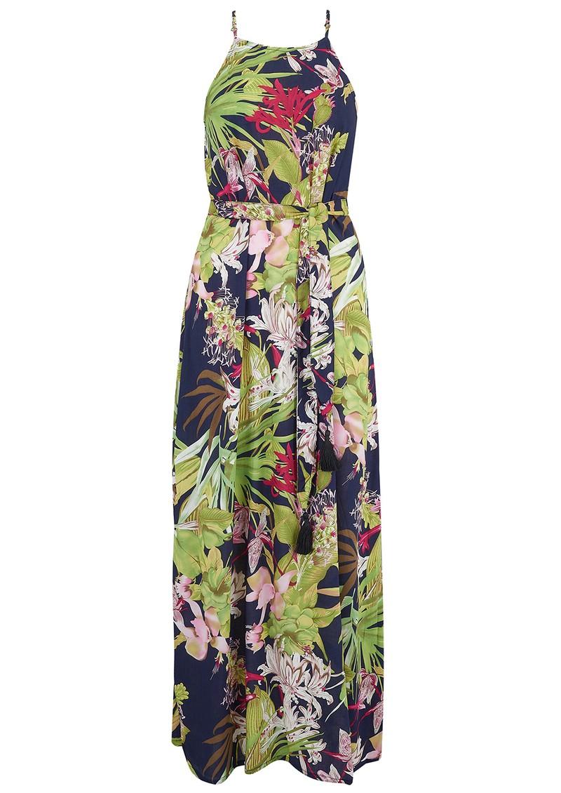 TRIBE + FABLE Malibu Vietnam Dress - Black main image