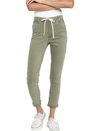 Paige Denim Christy Drawstring Pant - Costal Green