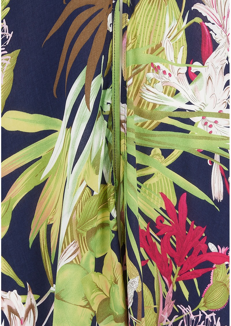 TRIBE + FABLE Malibu Kimono - Black main image