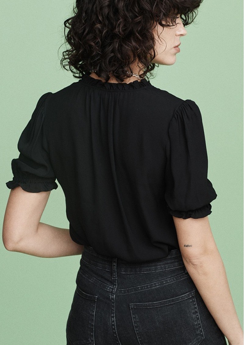 MAYLA Evelyn Blouse - Black  main image