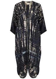 TRIBE + FABLE Animal Kimono - Black
