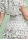 MAYLA Ellie Frill Printed Top - Blossom
