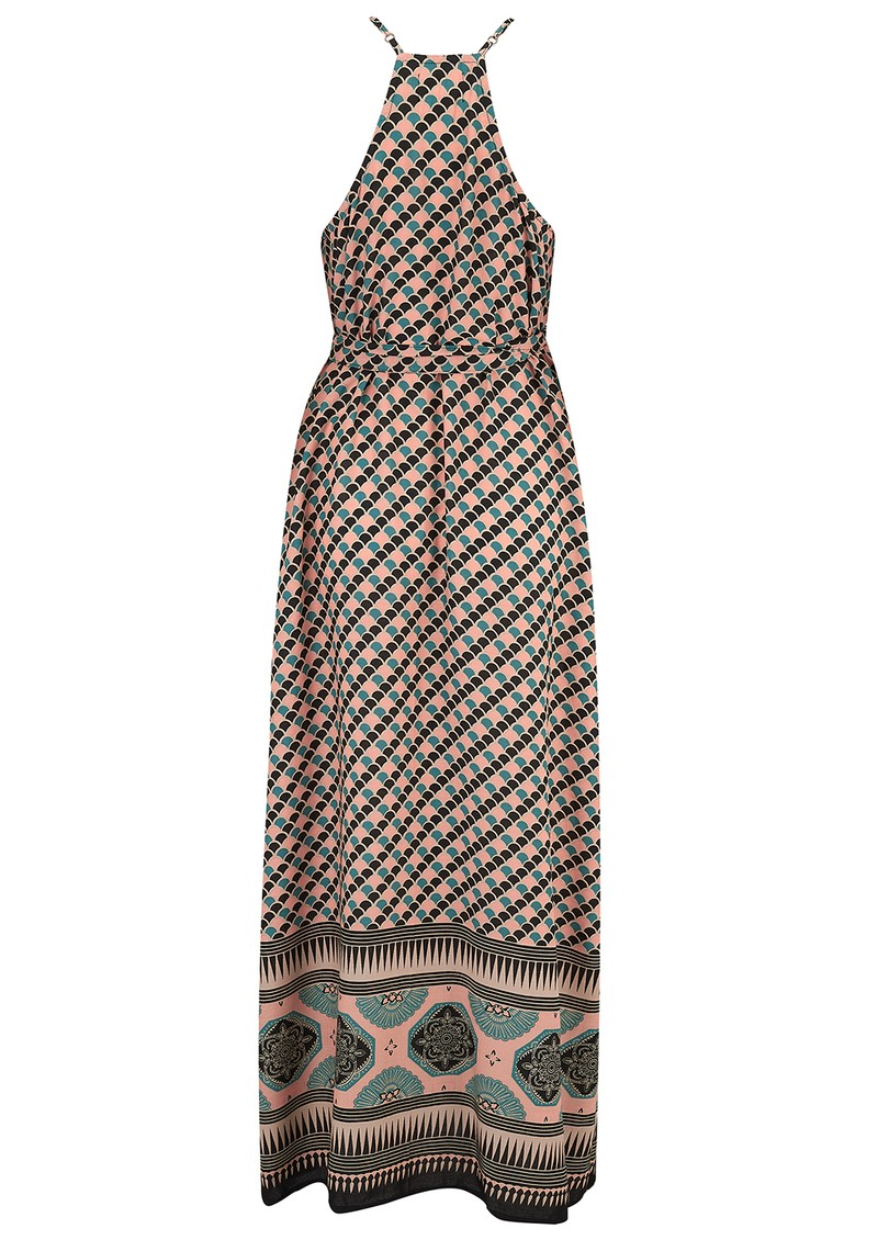 TRIBE + FABLE Mumbai Vietnam Dress - Black main image