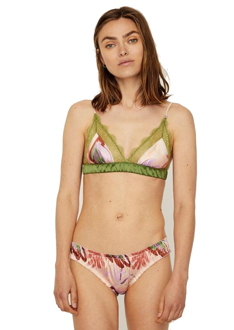 LOVE STORIES Love Lace Bralette - Jamaica Tropical main image