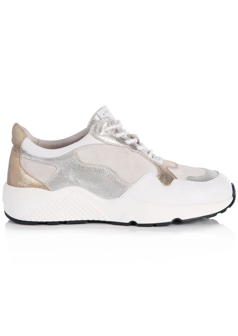 AIR & GRACE Cosmic Trainers - White & Silver main image
