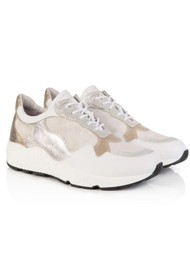 AIR & GRACE Cosmic Trainers - White & Silver
