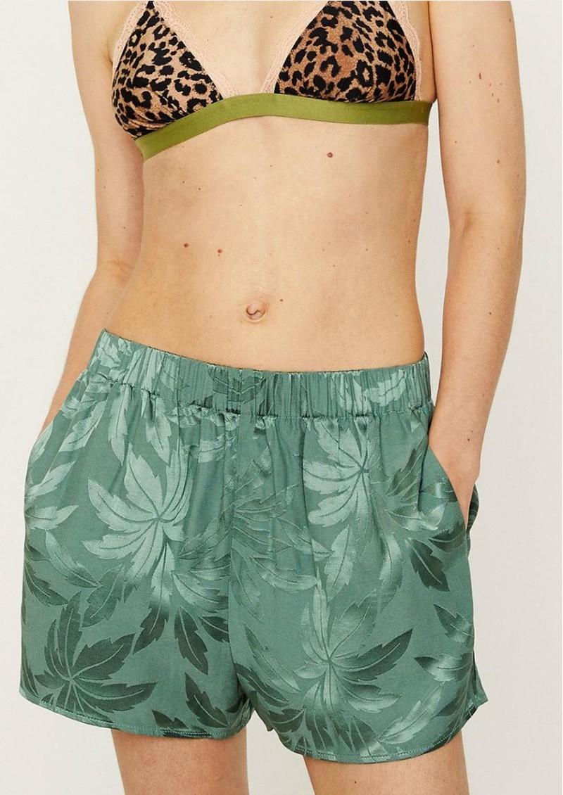 LOVE STORIES Abbie Pyjama Shorts - Ivy main image