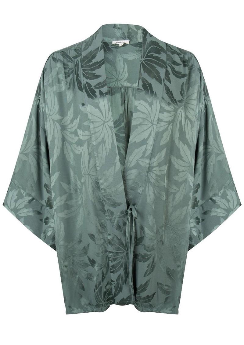 LOVE STORIES Suki Pyjama Robe - Ivy main image