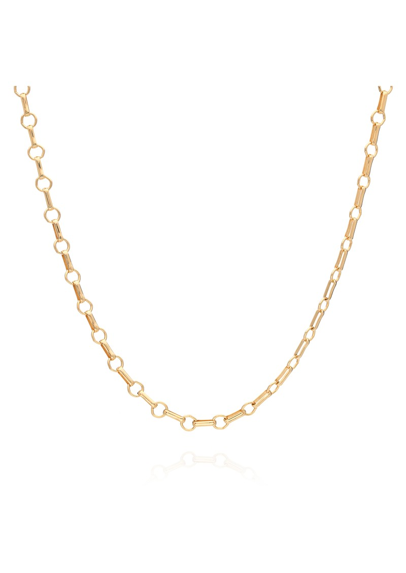 ANNA BECK Signature Bar & Ring Chain Choker Necklace - Gold main image