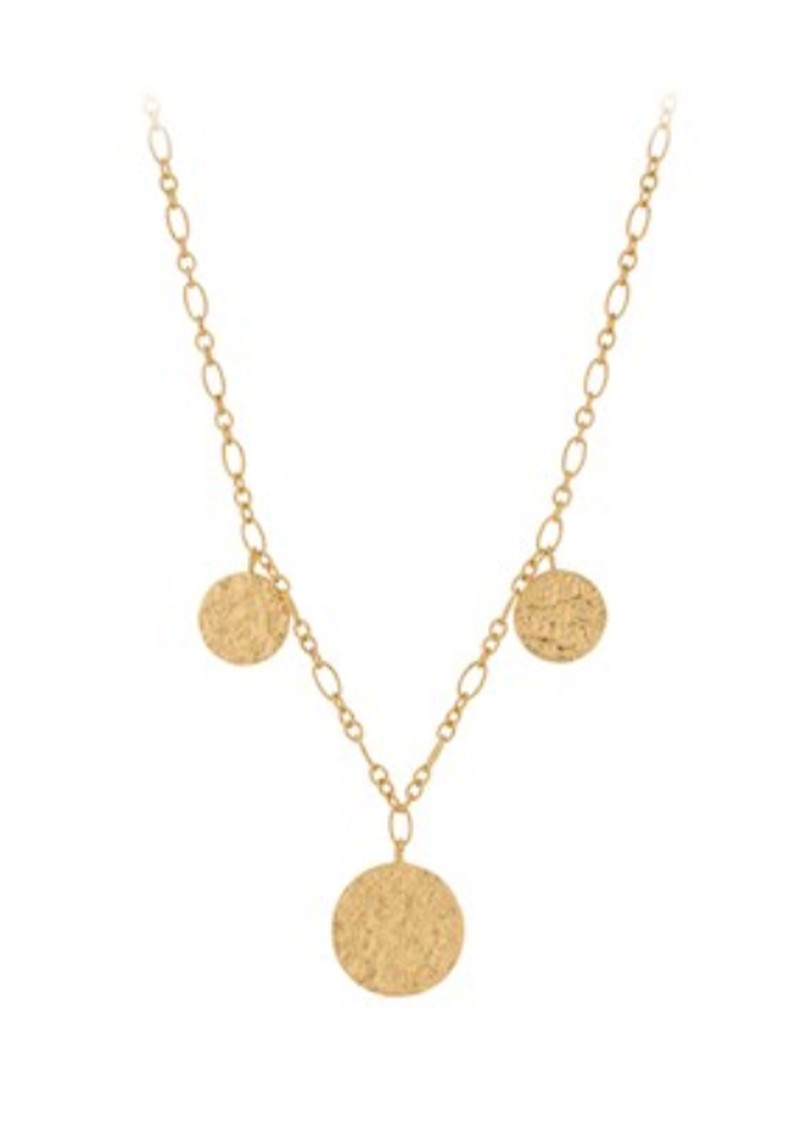 New Moon Necklace - Gold main image