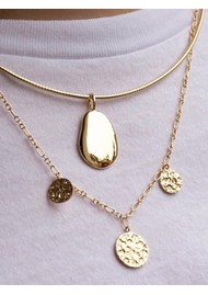 PERNILLE CORYDON New Moon Necklace - Gold