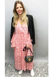 BAUM UND PFERDGARTEN Axelle Dress - Cream Ditsy